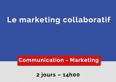 Le marketing collaboratif