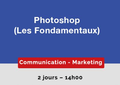 Photoshop : les Fondamentaux